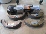 Wearever Silver Break Pads in Boxes w/ Tool Pieces