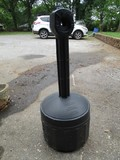 Smokers Cease-Fire Black Cigarette Garden Dispenser