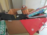 Christmas Lot - Wrapping Paper, Tree Décor Placemats, Etc.