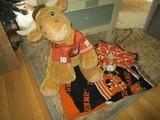 Texas Lot - Texas Bull Plush Toy, Cooler Bag, Blanket Longhorns