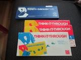 Vintage Discovery - Toys Think-It-Through Tiles w/ Think-It-Through Books