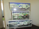 Hess Lot - Toy Truck & Helicopter, Monster Truck w/ Motorcycles