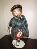 Dolls of The World by Geppeddo Scottish Highlander Porcelain Hands/Feet/Body