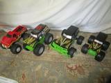 Lot - 4 Monster Trucks, 3