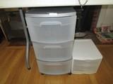 Sterlite 3 Drawer Storage Container & 3 Drawer Tool/Trinket Storage