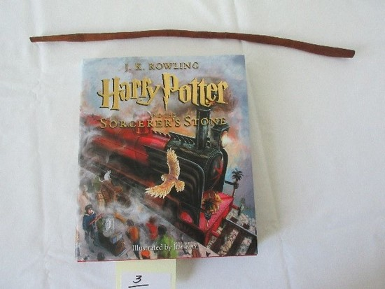 J.K. Rowling Harry Potter & The Sorcerer's Stone © 2015 First Illustrated Edition