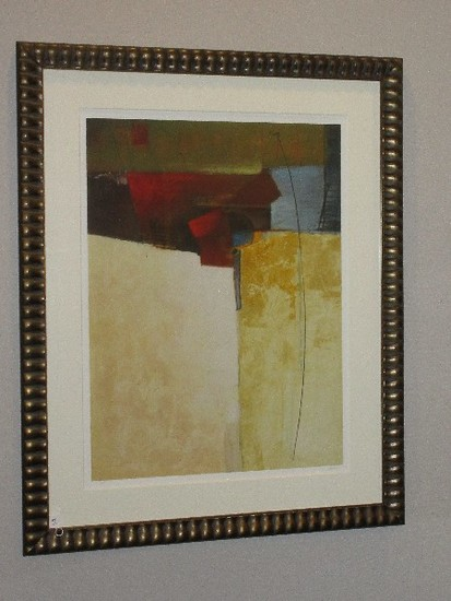Abstract Giclee Artist Signed Limited 12/295 Edition