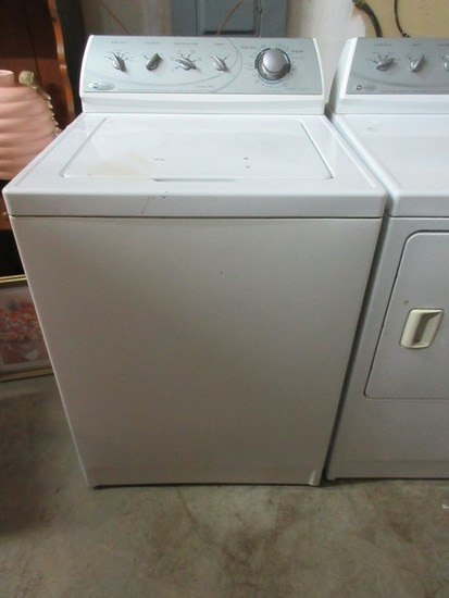 White Maytag Commercial Quality Washing Machine