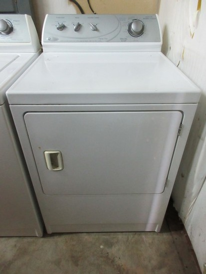 White Maytag Commercial Quality Dryer