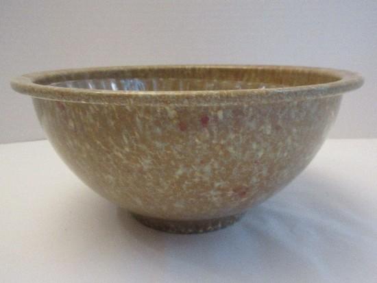 Texasware Malmac Melamine Footed Bowl Confetti Speckled Splatter Pattern