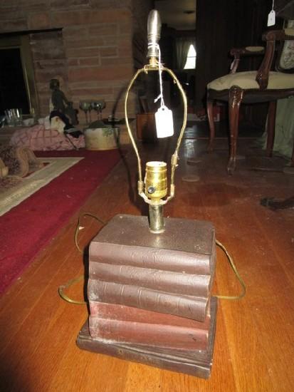 Stacked Book Design Desk Lamp
