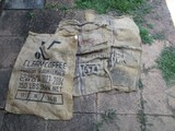 3 Cord Bags, 1 Clear Coffee