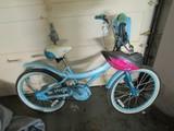 Bratz Blue Child's Bike w/ Seat Bag Attachment