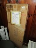 Solid Brass Leg Tub Shower Enclosure Set in Box