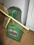Vintage Heineken Holland Beer Metal Advert/Windmill