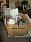 Kitchen Lot - Silverplate Basket, Sieve, Pots, Pans, Etc.