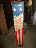 American Legend Wall Rug by Alexander Smith Carpet in Original Box
