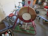 Electronic Red Metal Stone Grinder/Sharpener