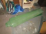 Faux Green Soccer Turf Roll