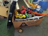 Toy Lot - Foosball, Toy Trucks, Dinosaurs, Etc.