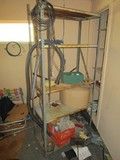 5-Tier Metal Shelving Organizer Adjustable