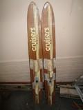 Cruisers JR Pair Wooden Vintage Skies by Nash