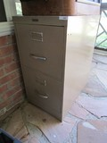 Anderson Hickey Co. 2 Drawer Metal Filing Cabinet