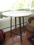 Wooden Round Top Side Table 31