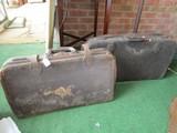 2 Vintage/Antique Doctors Bags Leather