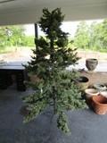 Faux X-Mas Tree w/ Stand