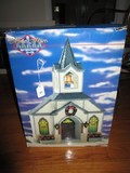Memory Makes LeMax Hand Crafted Decorative Christmas Church in Original Box