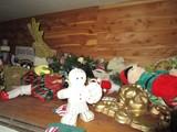 Christmas Lot - Misc. Christmas Décor, Lenox Décor, Toys, Wreaths, Etc.