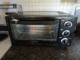 Black Hamilton Beach Toaster Oven
