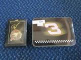 Lot - #3 Pen Knife in Tin Case, Dale Earnhardt Pocket Watch on Chain