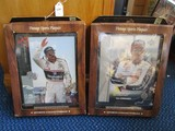 2 Large Dale Earnhardt Sport Collectible Plaques