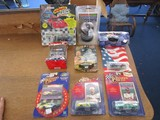 Lot - Race Ball Collectible Die-Cast #3 Cars, Racing Night Light