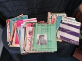 Lot - Vintage Song Books/Piano Books