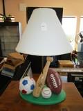 Baseball/Football/Soccer Children's Desk Lamp