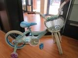 Elsa & Anna Tangled Motif Childs Books w/ Training Wheels/Basket