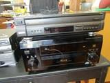 Technics Mash 5 Disc Digital Stereo System Pioneer Elite VSX-53TX ALV Multi-Channel Receiver