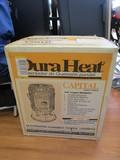 Dara Heat Portable Kerosene Heater Convection 23,000 BTU's in Box