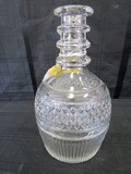 Seagrams 1776 Decanter Designed by Tiffany & Co. Ribbed/Diamond Cut Design