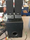 Speaker Lot - RadioShack Speaker, 2 Smaller Speakers