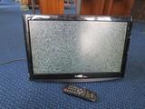 Sanyo Black LCD TV Screen Wall Mounted