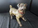 Clay Ceramic Pug Dog Décor