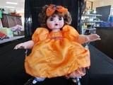 Marie Osmond © 2007 #128/500 Doll Porcelain Head/Hands/Feet Orange Dress