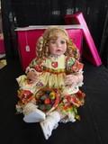 Marie Osmond © 2007 #0627/2500 Doll Porcelain Head/Hands/Feet Summer Fruit Dress
