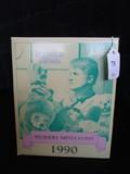 Raines Bears Nursery Miniatures 1990 Nathan w/ Wagon in Original Box