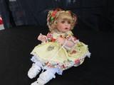 Marie Osmond Doll Porcelain Miniature Head/Hands/Feet