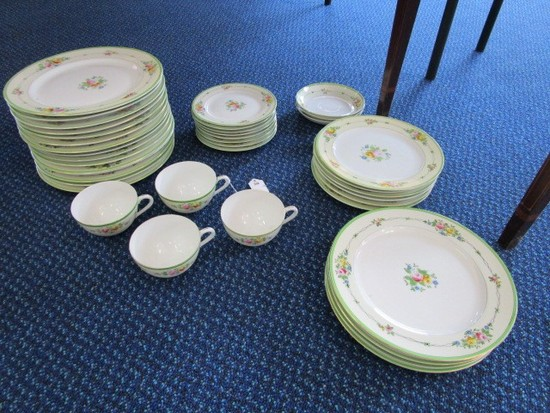 Hand Painted Made in Japan Rose Pattern Ceramic Lot